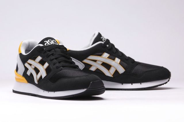 Asics Gel Atlantis Black Yellow 6