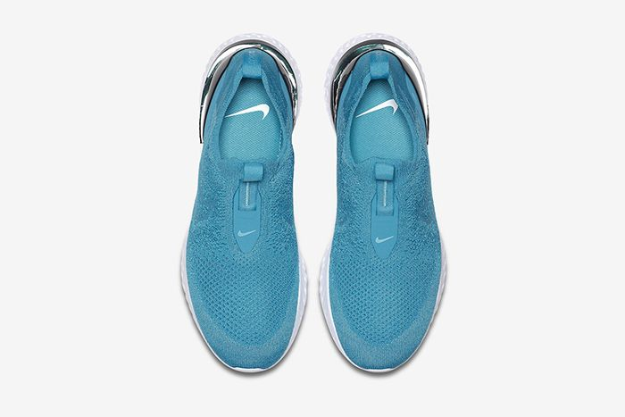 Nike Phantom React Flyknit Lake Blue Bv0417 400 Release Date Top Down