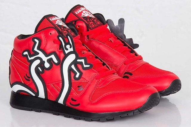 Keith Haring Reebok Classic Leather Mid Lux 2