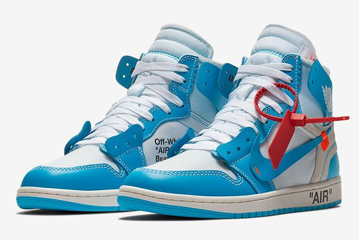 Off White Aj1 Unc On Foot 6