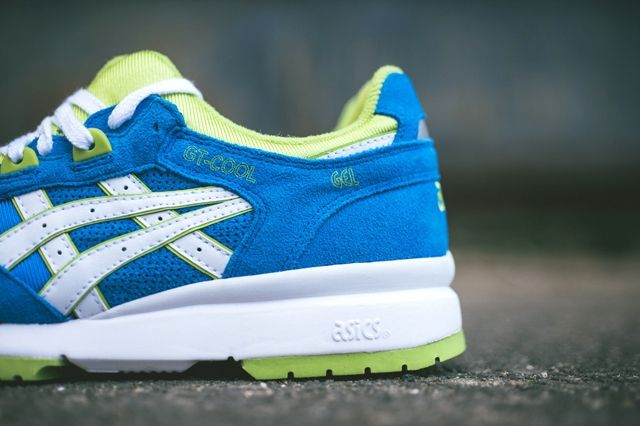 Asics Gt Cool Mid Blue Lime 5