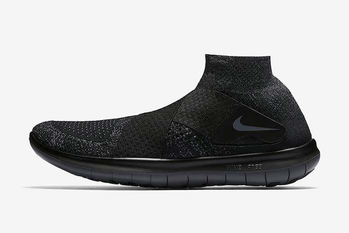 Nike Free Rn Motion Triple Black 1
