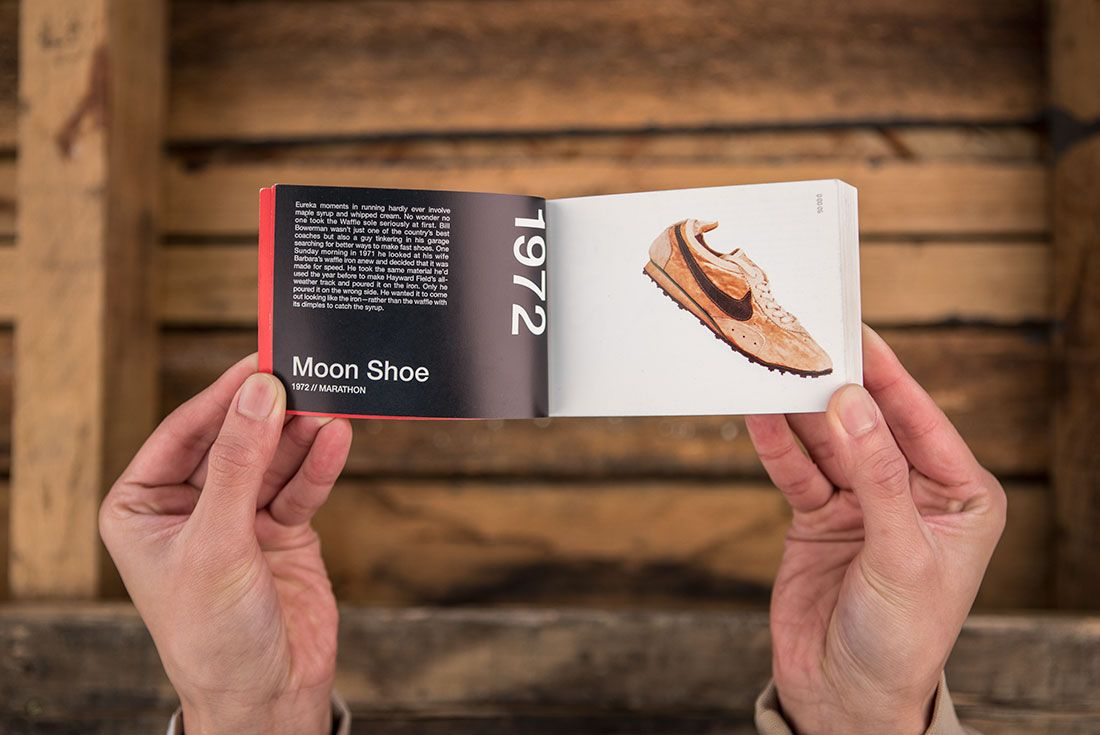 Nike A Brief History Of Speed Moon Shoe