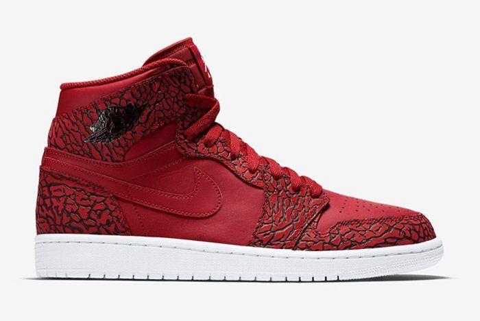Air Jordan 1 High Red Elephant6