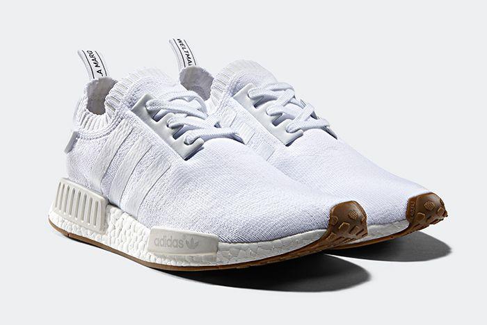 Adidas Nmd R1 Whitegum 1