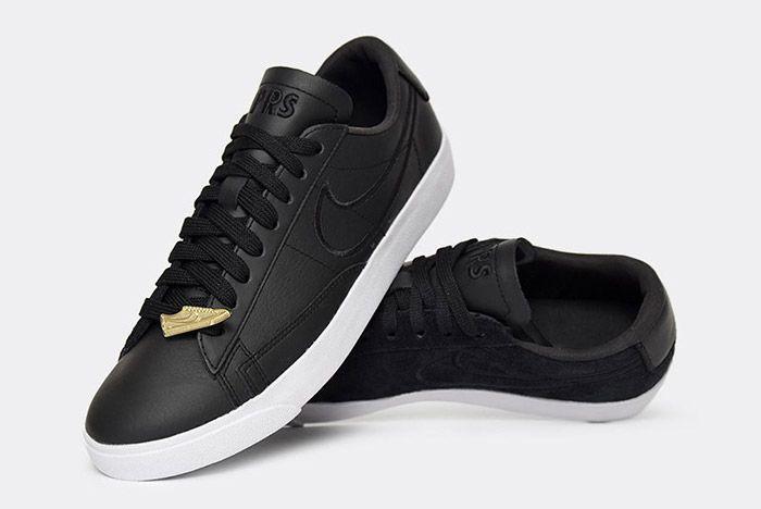 Nike Blazer Low Wmns Black Paris Fashion Week 5