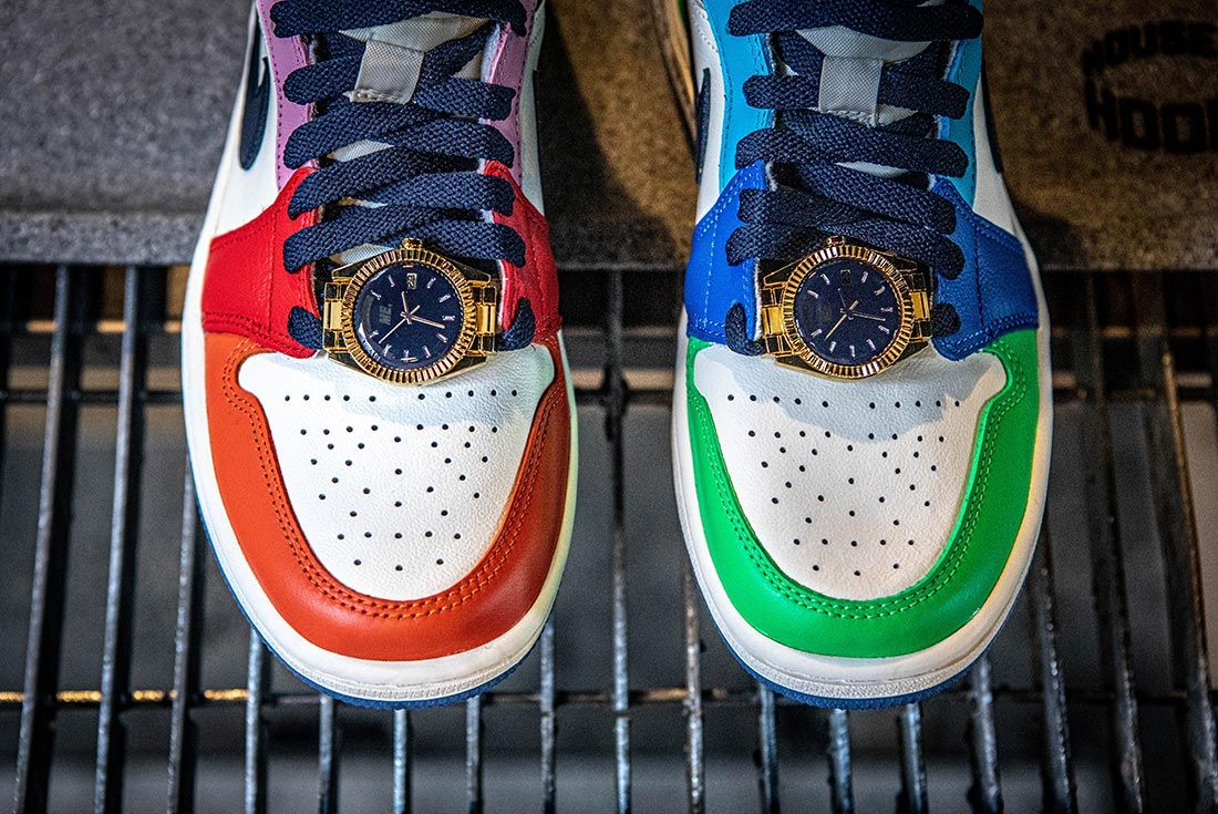 Melody Ehsani Air Jordan 1 Mid Fearless Watches Above