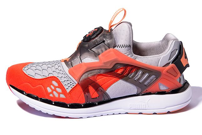 Puma Disc Blaze Ltwt Web Orange Side 1