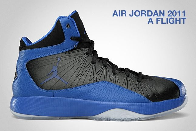 Air Jordan 2011 A Flight Varsity Royal 1