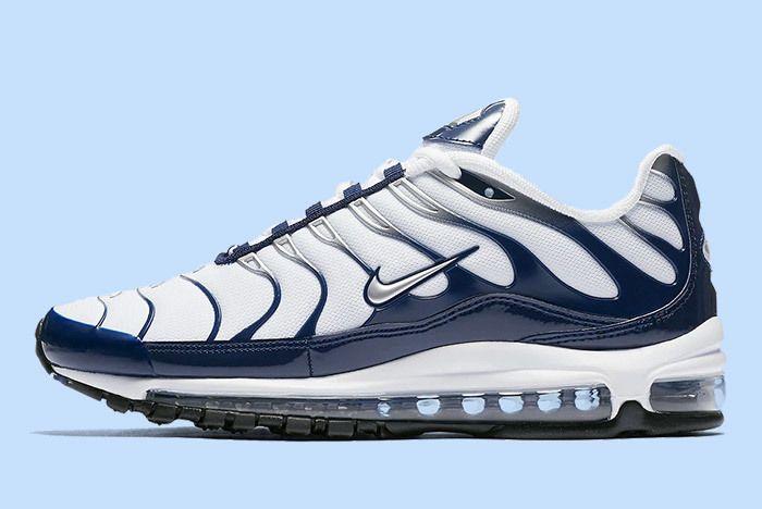 Nike Air Max Plus 97 White Blue 1