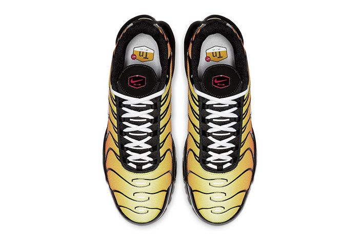 Nike Air Max Plus Orange 852630 040 Top