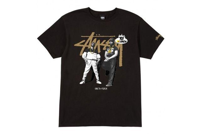 Stussy Mtv Raps T Shirt 7