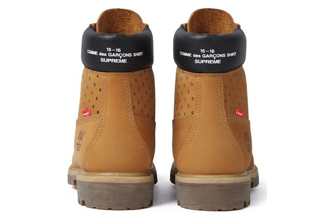 Comme Des Garçons Shirt X Supreme X Timberland 6 Inch Premium Waterproof Boot 2