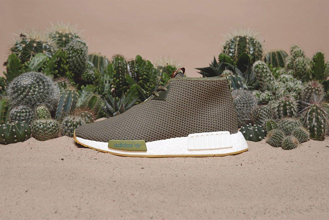 Adidas End Sahara Nmd C1 Green 4 1