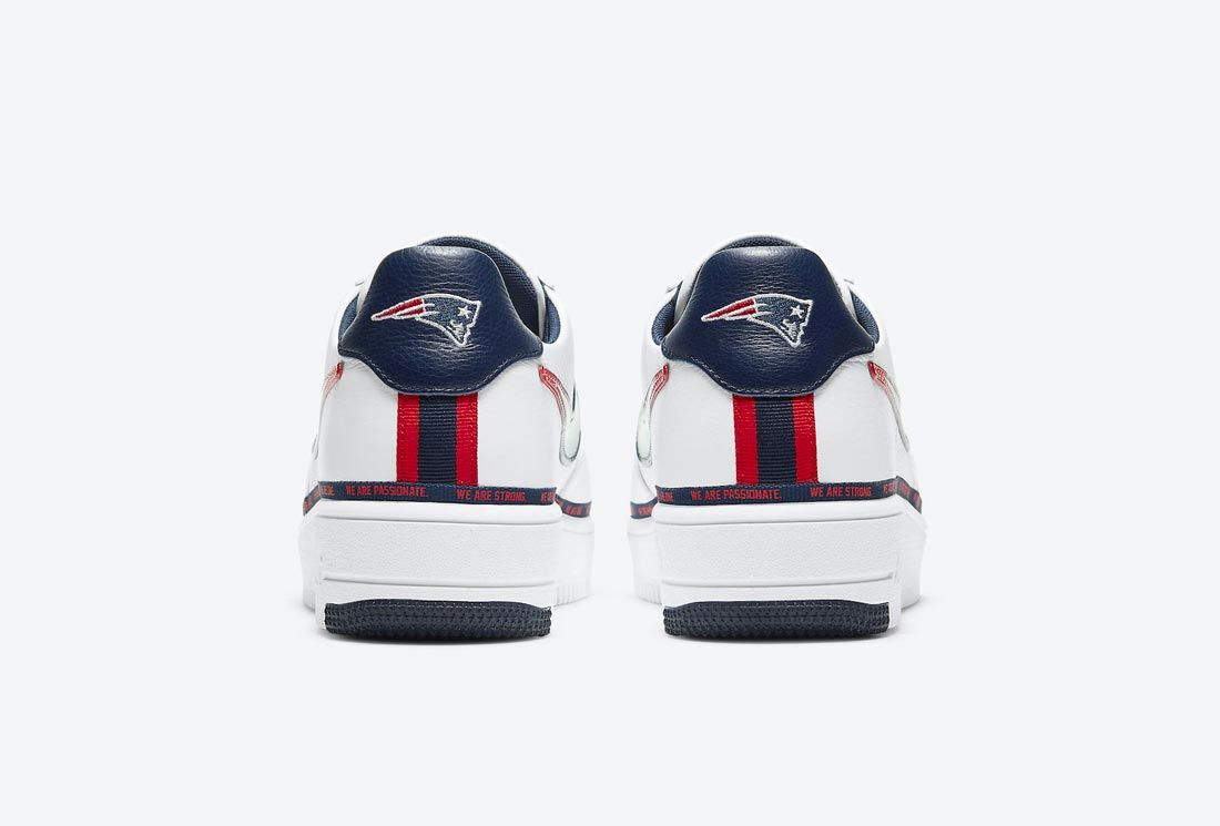 Nike Air Force 1 Ultraforce 'New England Patriots'