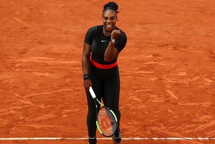 Serena Williams Baby Off Whites 1