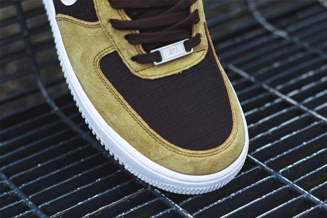 Nike Af1 Golden Tan 2