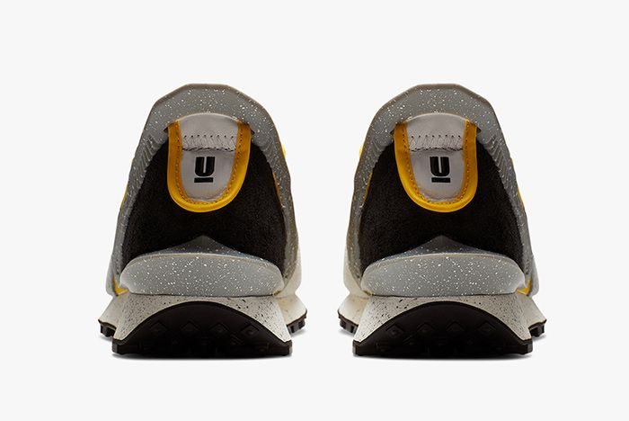 Undercover Nike Daybreak Bright Citron Heel
