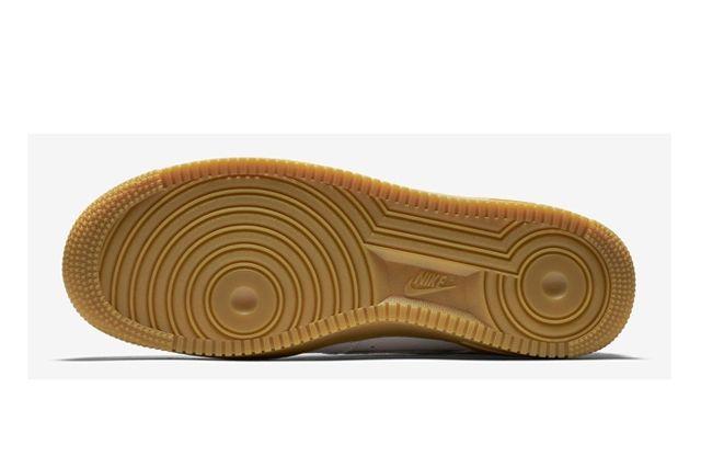 Nike Af1 White Gum 4