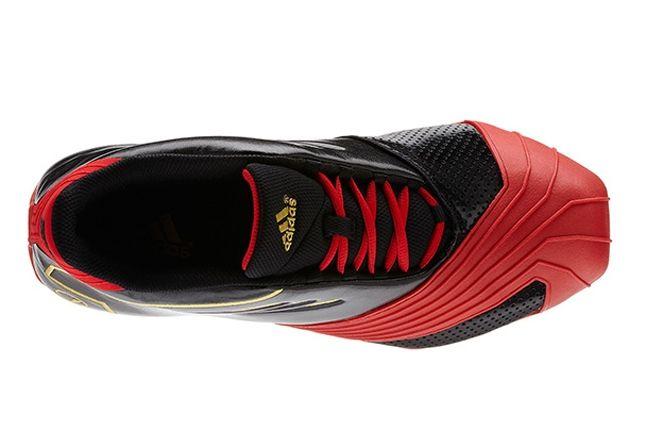 Adidas T Mac Black Light Scarlet Birds Eye 1