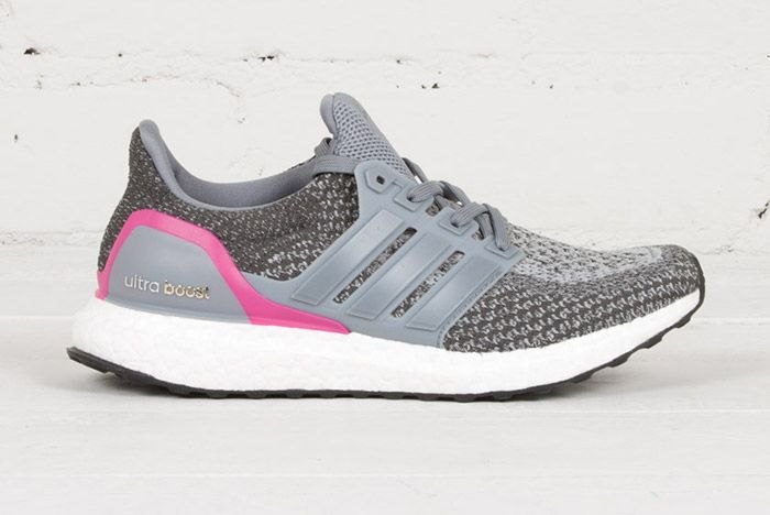 Adidas Ultra Boost Wmns Grey Shocking Pink 1