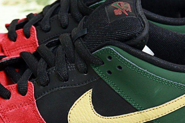 Nike Sb Dunk Low Bhm Detail Swoosh 1