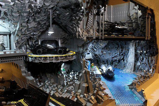 Lego Batcave 8 1