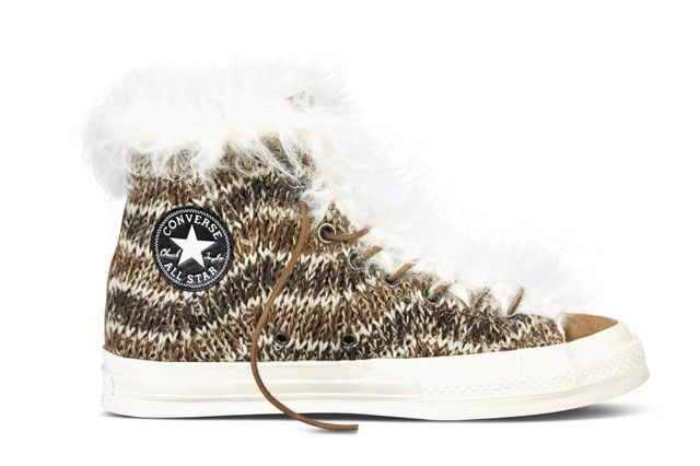 Converse All Star Chuck 70 Missoni Zip Lip Shearling