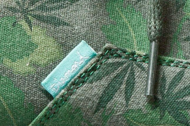 Diamond Diamond Cuts Weed Camo Green 2 1