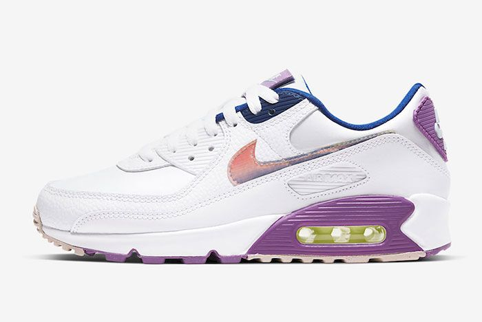 Nike Air Max 90 Easter Cj0623 100 Lateral