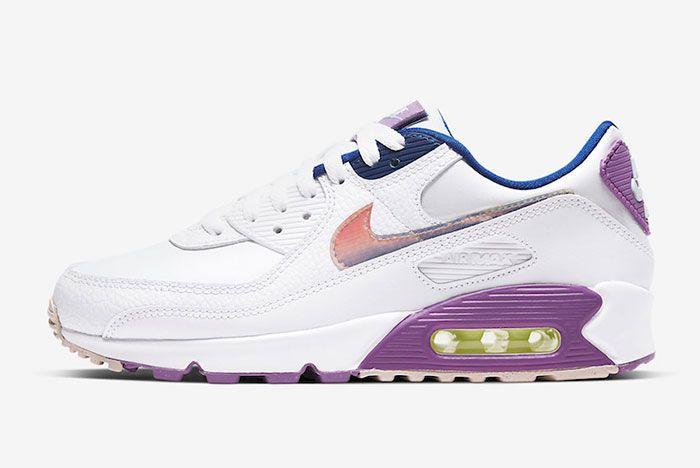 Nike Air Max 90 Easter Cj0623 100 Lateral