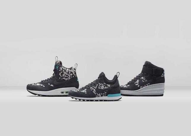Nike X Liberty Belmont Ivy Black Pack