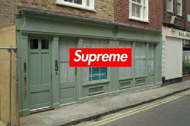 Supreme Store London 1