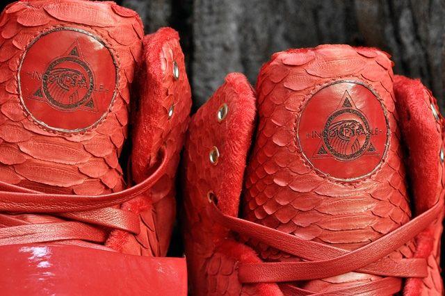 Jbf Customs Nike Air Yeezy 1 Red October 7