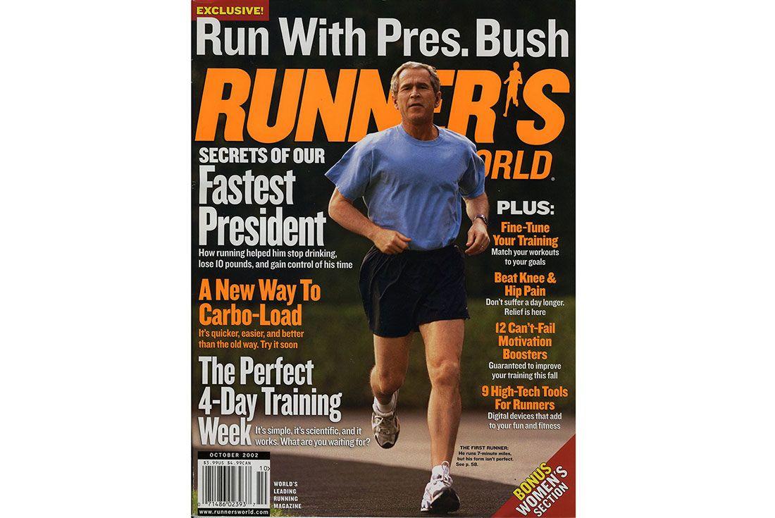 Running For President George Bush Runners World