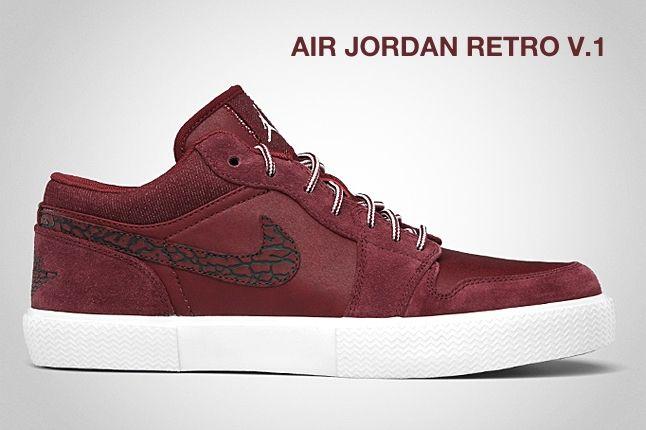 Air Jordan Retro V 1 Red 1