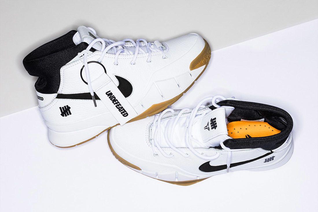 Nike Undefeated Zoom Kobe 1 Proto White 7