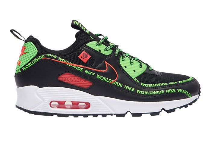 Nike Air Max 90 Worldwide 6474 001 Lateral Side Shot1
