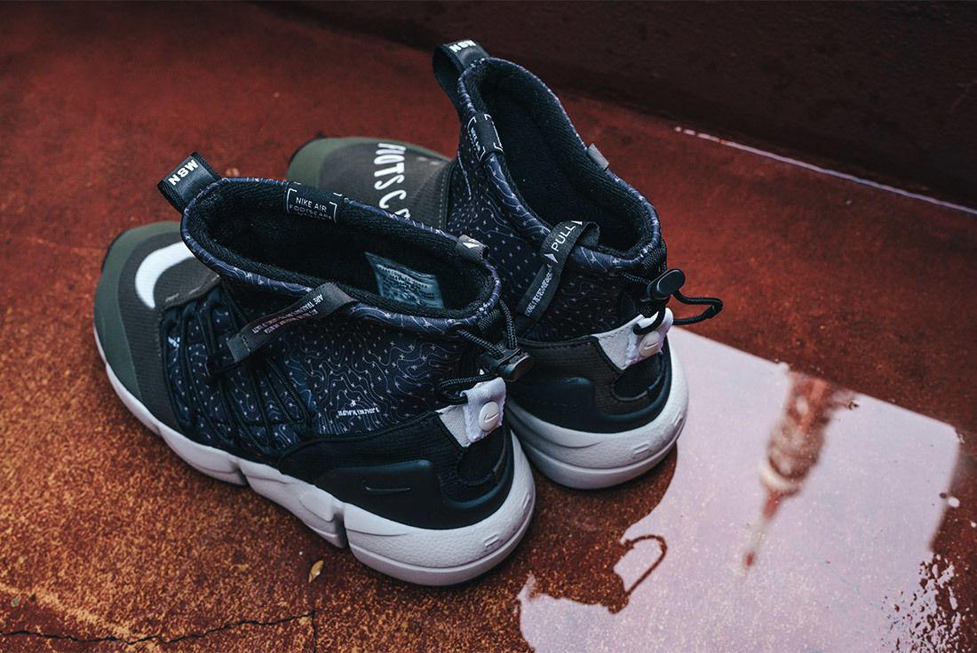Nike Air Footscape Mid Utility Tokyo Limited Edition For Nonfuture Mita Sneakers 13