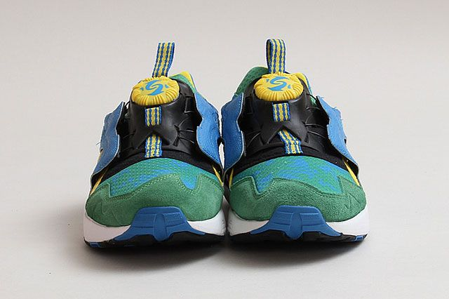 Puma Disc Cage Tropical Grn Ylw Brazil Frontview