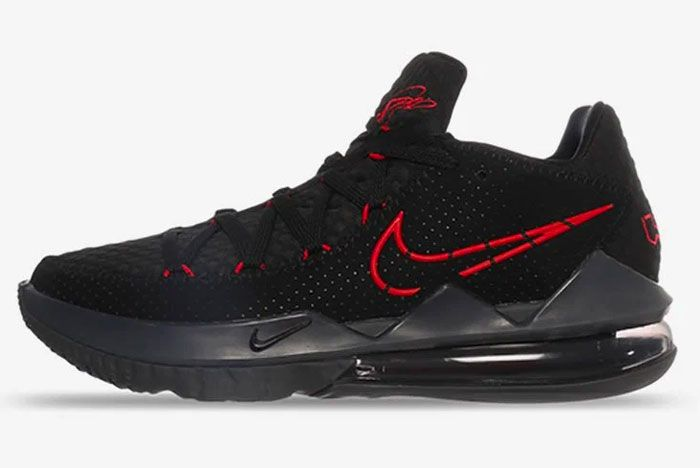 Nike Lebron 17 Low Bred Left