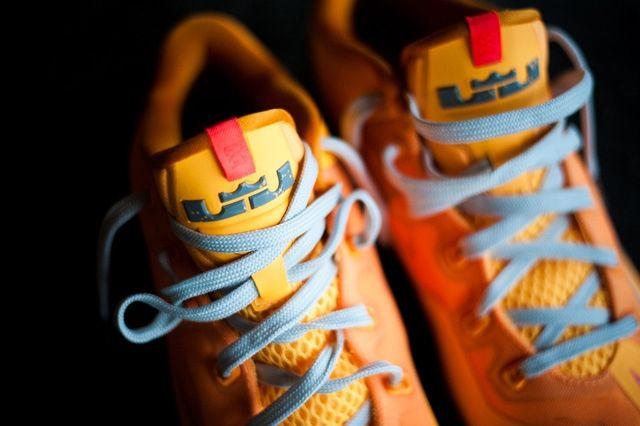 Nike Lebron 11 Low Atomic Mango Bump 3