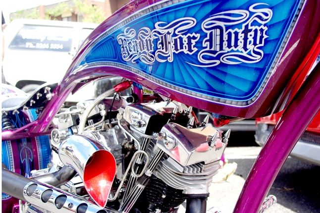 Saint Side Bike Show 2013 Ready For Duty 1