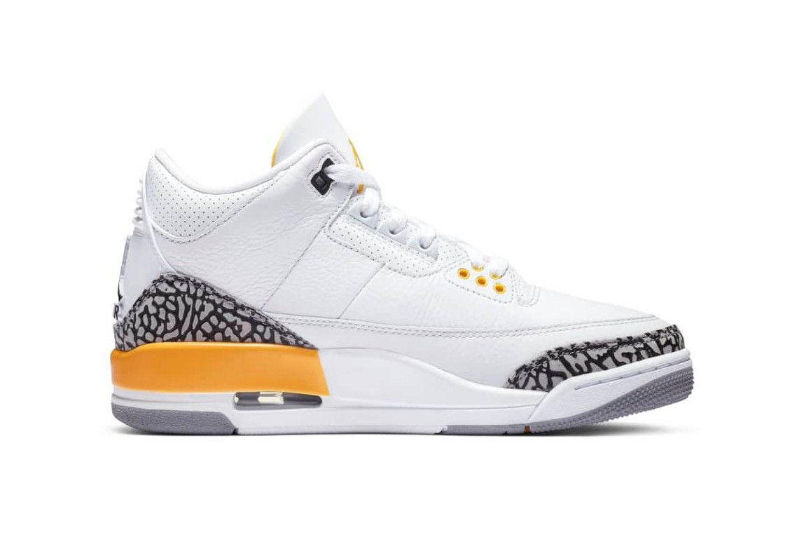 Air Jordan 3 Laser Orange Right