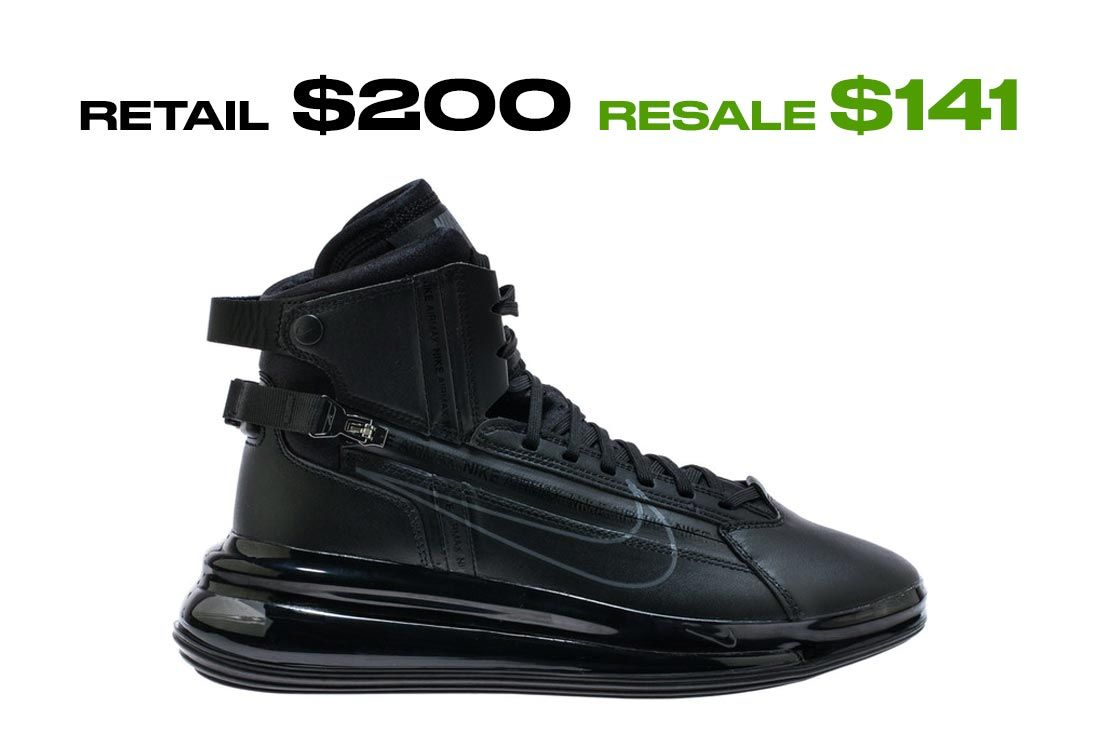 Nike Air Max 720 Saturn Black Dark Grey