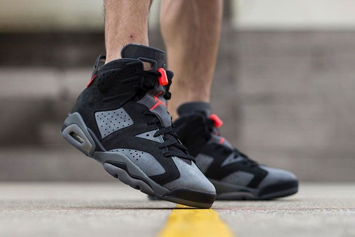 Psg X Air Jordan 6 On Foot 1