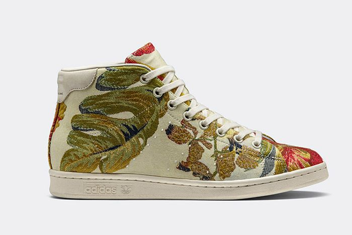 Adidas Pharrell Williams Stan Smith Mid Jacquard Floral 5