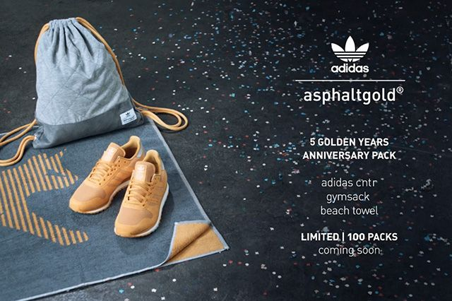 Asphaltgold Adidas 5 Golden Years Anniversary Pack 3