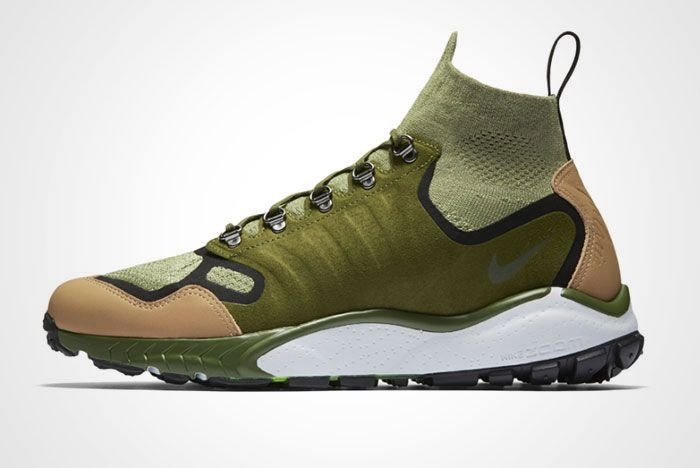 Nike Air Zoom Talaria Mid Flyknit Green Tan Thumb