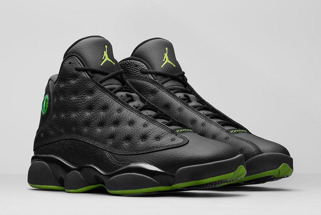 Air Jordan 13 Black 1